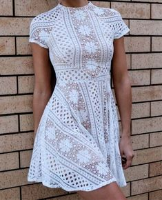 Lace Prom Dress,Hollow Prom Dress,Mini Homecoming Dress,Fashion Prom Dress,Sexy Party Dress, 2017 New Evening Dress