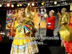 Estandarte Poesia - Um Bloco em Poesia - Carnaval 2011