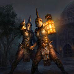 ArtStation - Elder Scrolls Legends: Sound the Alarm, Andrew Mar The Elder Scrolls, Elder Scrolls Online, High Fantasy, Medieval Fantasy, Fantasy Art, Fantasy Story, Final Fantasy, Dark Souls, Skyrim