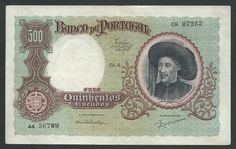 500 Escudos Portugal 1938 http://www.kollectbox.com/explore#/item/profile/56ae53e7bf25d2fd0e5c79fb #marketplace for #banknote #collectors #papermoney #buybanknotes #banknotesforsale #sellbanknotes #papermoneyforsale #sellpapermoney #buypapermoney
