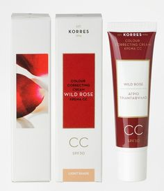 Things We Need to Try Korres Wild Rose CC Cream