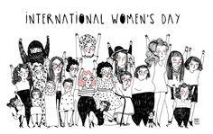 """sarafratini: """" INTERNATIONAL WOMEN'S DAY! """""""