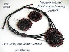 Αποτέλεσμα εικόνας για macrame earrings tutorial