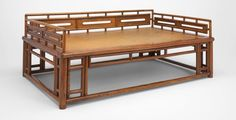 Chinese Couch-Bed, late Ming/early Qing dynasty, 17th century