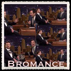 Jimmy Fallon & Justin Timberlake bromance