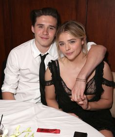 This Is What Brooklyn Beckham Wore for His Red Carpet Debut With Girlfriend Chloë Grace Moretz