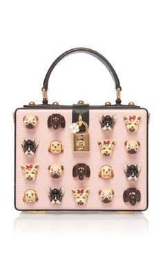 Leather Box Tote by Dolce & Gabbana