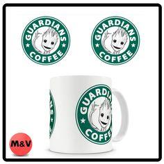 Guardians of the Galaxy, Baby Groot Guardians Coffee mug, Starbucks