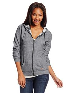Roxy Juniors Beauty Stardust French Terry Zip Up Hoodie  Roxy
