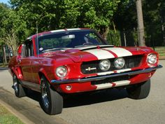 67 GT 350. My baby.