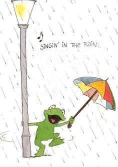 leendert jan vis - singin' in the rain