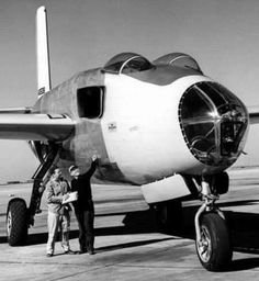 The Douglas XB-43 Jetmaster was an American 1940s jet-powered prototype bomber. The XB-43 was a development of the XB-42, replacing the piston engines of the XB-42 with two General Electric J35 engines of 4,000 lbf (17.8 kN) thrust each. Despite being the first American jet bomber to fly, it suffered stability issues and the design did not enter production.