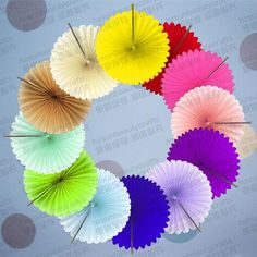 Free shipping, $0.71/Piece:buy wholesale tissue paper hanging flower fan various colors round of Round fan,Tissue paper,Yes,Handicraft,SML-C030 from DHgate.com, get worldwide delivery and buyer protection service.