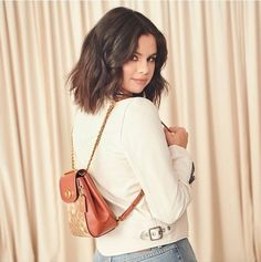 Uploaded by leralera. Find images and videos about style, selena gomez and celebrity on We Heart It - the app to get lost in what you love. Selena Gomez Coach, Selena Gomez Style, Selena Gimez, Rihanna, Selena Gomez Photoshoot, Gta San Andreas, Rebel Fashion, Women's Fashion, Marie Gomez