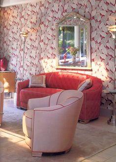 MOTEHISTORIE — Barbra Streisand Art Deco Collection fills the...