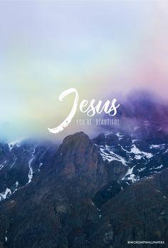 Worship songs as wallpapers