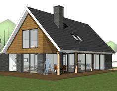 Nieuw ontwerp voor een vrijstaande woning. Ontwerp Sander Bongers Uitvoering onbekend Status in ontwikkeling