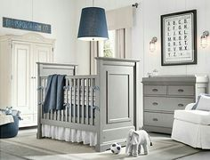 RH Baby & Child's Boy Nursery Collections:Shop baby cribs at Restoration Hardware Baby & Child. All cribs convert to toddler beds and are JPMA-certified to comply with the most rigorous safety standards. Baby Bedroom, Baby Boy Rooms, Baby Boy Nurseries, Nursery Room, Nursery Ideas, Nursery Themes, Nursery Decor, Baby Bedding, Nursery Bedding