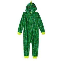 Komar Boys' Kids Dinosaur Hooded Blanket Sleeper, Size: 10/12, Green