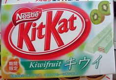 they are also flavors of Kit Kat candy. Kit Kats are the most popular confectionery treat in Japan, according to AdAge. Japanese Snacks, Japanese Sweets, Japanese Candy, Japanese Kit Kat Flavors, Kit Kat Candy, Kit Kat Bars, Fruit Parfait, Cute Snacks, Chocolate Flavors