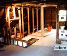 Attic re-do! thisoldhouse.com | from A DIY Attic Master Bath Retreat