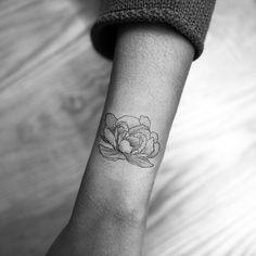 peony tattoo  #ilwolhongdam