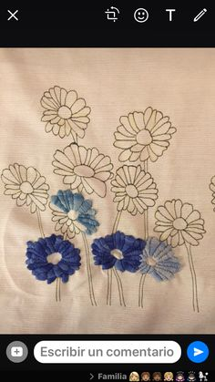 Home and Furniture: 10 DIY Spring Cleaning Tips And Tricks Cushion Embroidery, Embroidery Flowers Pattern, Silk Ribbon Embroidery, Crewel Embroidery, Embroidered Flowers, Hand Embroidery Designs, Embroidery Techniques, Fabric Painting, Needlework