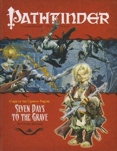 Curse of the Crimson Throne: Seven Days to the Grave (Pathfinder, No. 8) (v. 8) - http://www.discountbazaaronline.com/curse-of-the-crimson-throne-seven-days-to-the-grave-pathfinder-no-8-v-8/