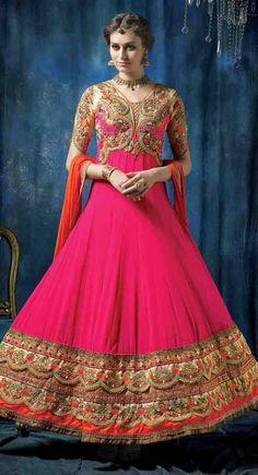 http://shreemadhufashion.com/salwar-kameez/charmer-pink-georgette-anarkali-salwar-kameez.html