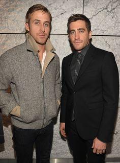 Jake Gyllenhaal en 2010 avec Ryan Gosling