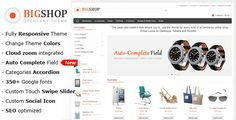 Bigshop - Multi-Purpose Responsive OpenCart Theme - ThemeForest