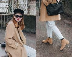 Kristina Magdalina - Sunglassla Sunglasses, Lightinthebox Boots - Camel Color Boots