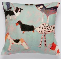 Arthouse Meath Charity Dogs Day Out Cushion - Arthouse Meath