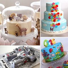 40 Fabulous and Unique Birthday Cakes