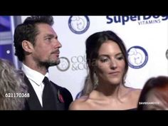March 11, 2016 ---- David Gandy with Stephanie Mendoros at the Battersea Dogs & amp; Cats Home & #39;s Annual Gala - YouTube