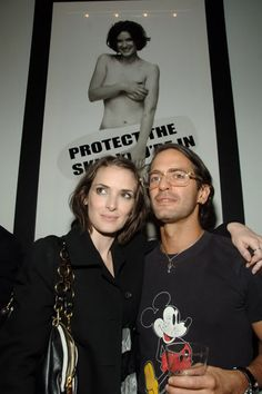 Winona Ryder and Marc Jacobs during Olympus Fashion Week Spring Winona Ryder Style, Winona Forever, Party Photos, Johnny Depp, Beautiful Celebrities, Role Models, My Idol, Amazing Women, Marc Jacobs