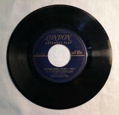 London 45 RPM Record Extended Play Christmas Chimes Volume 2 Joy To The World #Christmas #ebay #GotPicks