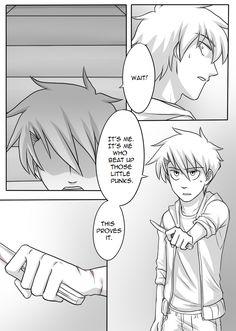 Jeff The Killer Page 39 by Kyoichii.deviantart.com on @DeviantArt