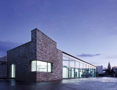 """Nominiert für den Fritz-Höger-Preis 2011 für Backstein-Architektur in der Kategorie """"Büro- und Gewerbebauten""""."""