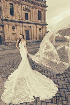 Julia Kontogruni 2015 Bridal Collection: Beautiful Wedding Dresses, Beautiful Photoshoot Location Naro, Sicily.