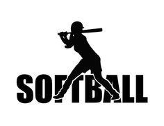 Silhouette Curio, Silhouette Clip Art, Softball Bags, Softball Gifts, Cheerleading Gifts, Basketball Gifts, Softball Clipart, Pumi Dog, Cricut Tutorials