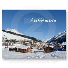 Shop Austria Lech am Arlberg Vorarlberg Postcard created by stdjura. Alps, Austria, Switzerland, Mount Everest, Mountains, Photography, Travel, Voyage, Viajes