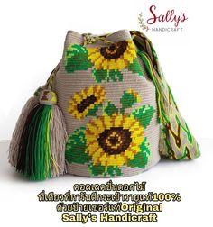 62 отметок «Нравится», 3 комментариев — กระเป๋าวายูแท้100% Wayúu bag (@sallyshandicraft) в Instagram: «Flower collection is coming! Finest single thread hande woven 100% Orginal wayuu bag from Colombia…»