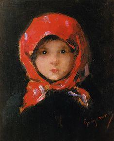 Little peasant girl - famous Romanian painter Nicolae Grigorescu Art Thou, Portraits, Famous Art, Your Paintings, Figure Painting, Lovers Art, Painting Inspiration, Sculpture Art, Sculptures