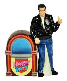 Look what I found on #zulily! Fonz & Jukebox Salt & Pepper Shakers #zulilyfinds
