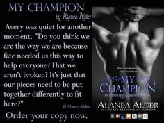 My Champion book 7  Declan Lionhart (Lion Shifter)  Book seven in the Bewitched and Bewildered series Amazon US  http://ift.tt/2nXjvOu  Amazon UK  http://ift.tt/2pLSASc  Amazon AU  http://ift.tt/2nXnYB1  Amazon.CA  http://ift.tt/2pLAbVG  iTunes  https://apple.co/2hpQ8B5 Declan Lionhart has been running interference between the Founding Families and the citizens of Noctem Falls since the day he arrived in the city. His hopes of being a simple unit warrior crumbles in the face of their…