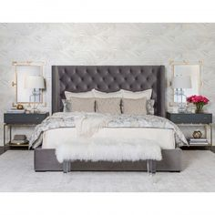 Terrazo Duvet Set, Silver - Ann Gish - Bedding - Accessories