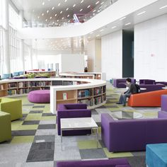 The James B. Hunt library North Carolina State University.