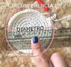 Todo lo que necesitas saber para tejer un buen gorro / Aprende a tejer Patrones para Crochet Circunferencia / 3,14=diametro