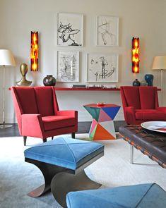 Apartment in Paris. Interior Design by Caroline Sarkozy, Photographer: Reto Guntli / zapaimages